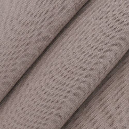 Ткань на отрез футер 3-х нитка компакт пенье начес цвет светло-коричневый фото 3