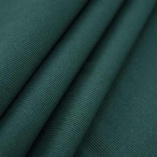 Ткань на отрез кашкорсе с лайкрой цвет темно-зеленый фото 1