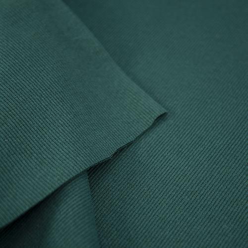 Ткань на отрез кашкорсе с лайкрой цвет темно-зеленый фото 3