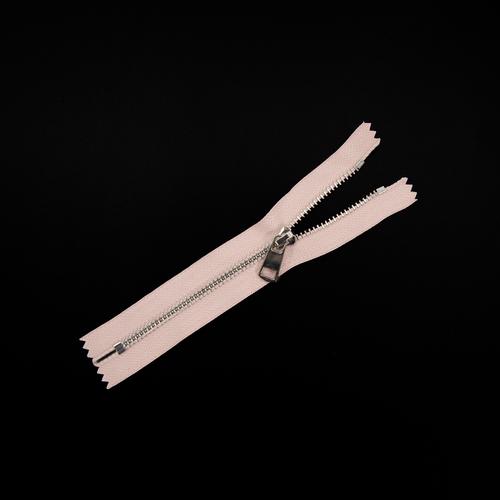 Молния металл №5ТТ никель н/р 18см D274 пыльная роза фото 1
