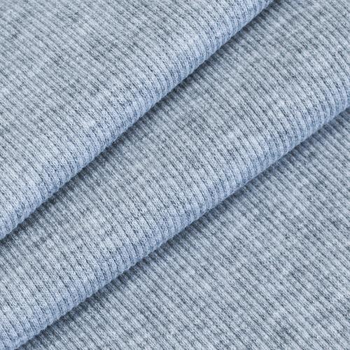 Ткань на отрез кашкорсе 3-х нитка с лайкрой 4985-1 цвет серый меланж фото 1