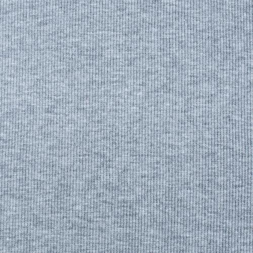 Ткань на отрез кашкорсе 3-х нитка с лайкрой 4985-1 цвет серый меланж фото 4