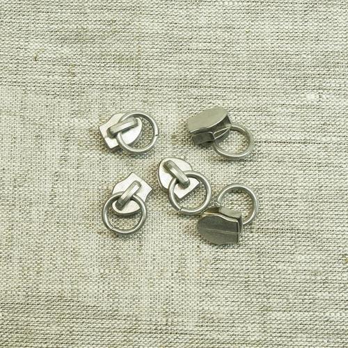 Бегунок спираль №5 С5-1043 никель сумка фото 1