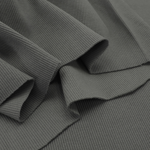 Ткань на отрез кашкорсе 3-х нитка с лайкрой цвет серый фото 5