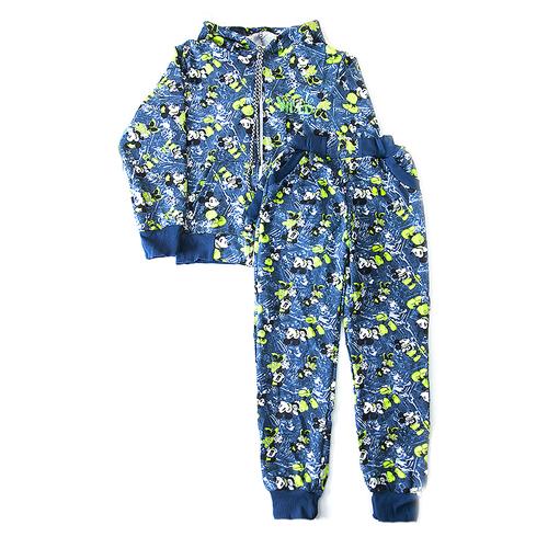 Спортивный костюм детский В3 Микки и Минни цвет синий р 42 фото 1