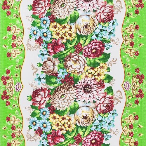 Маломеры вафельное полотно набивное 150 см 5375/1 3.4 м фото 1