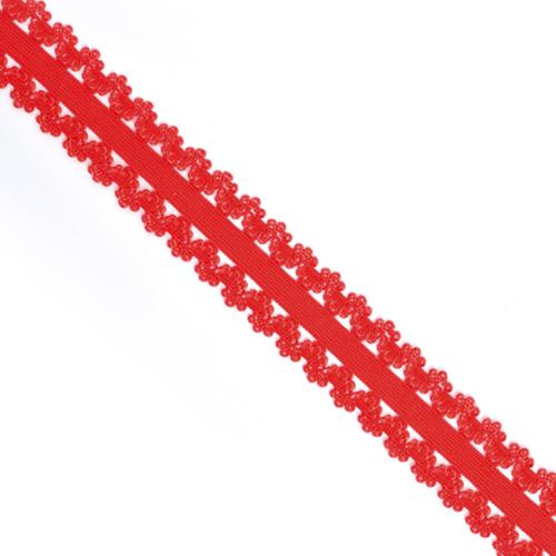 Резинка TBY бельевая 20 мм RB04164 цвет F162 красный 1 м фото 1