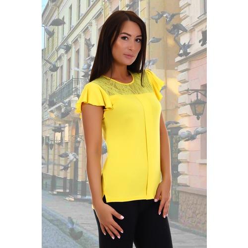 Блузка Рапсодия 4861 желтая р 48 фото 1