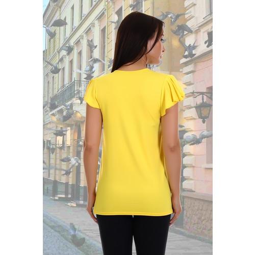 Блузка Рапсодия 4861 желтая р 48 фото 3
