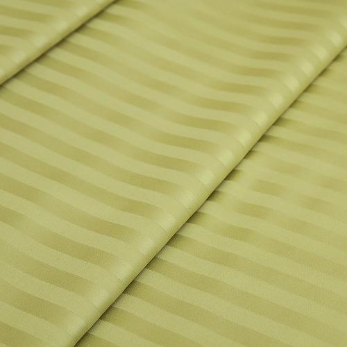 Страйп сатин полоса 1х1 см 220 см 135 гр/м2 цвет 312 фисташковый фото 1