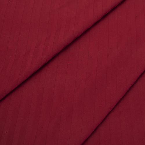Страйп сатин полоса 1х1 см 220 см 135 гр/м2 цвет 066 бордовый фото 1