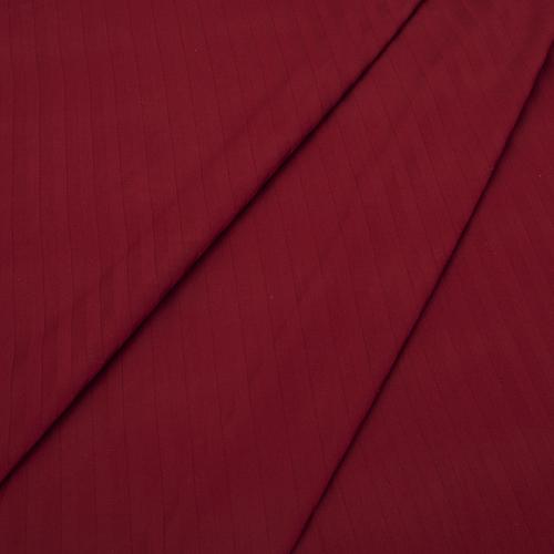 Страйп сатин полоса 1х1 см 220 см 135 гр/м2 цвет 066 бордовый фото 2