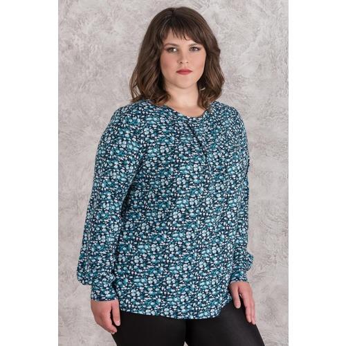 Блуза 0143-68 цвет Малахит р 50 фото 1