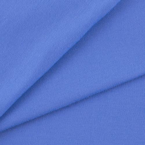 Мерный лоскут кулирка гладкокрашеная 9961 цвет синий 81/98х2 см фото 1