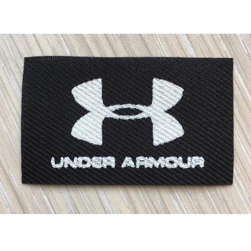 Нашивка Under Armour черная 3*5см фото 1
