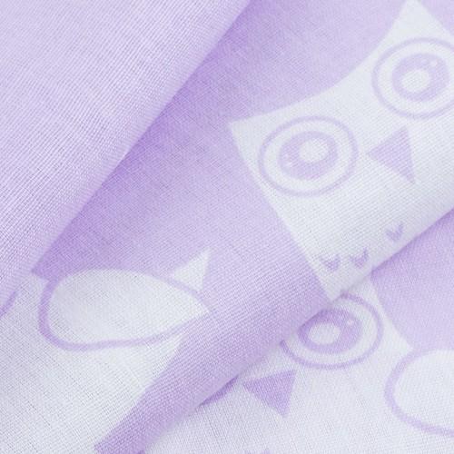Ткань на отрез бязь плательная 150 см 1682/6 цвет сирень фото 3