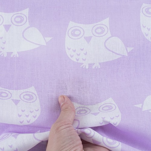 Ткань на отрез бязь плательная 150 см 1682/6 цвет сирень фото 4