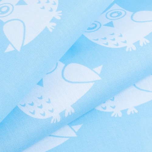Ткань на отрез бязь плательная 150 см 1682/7 цвет бирюза фото 3