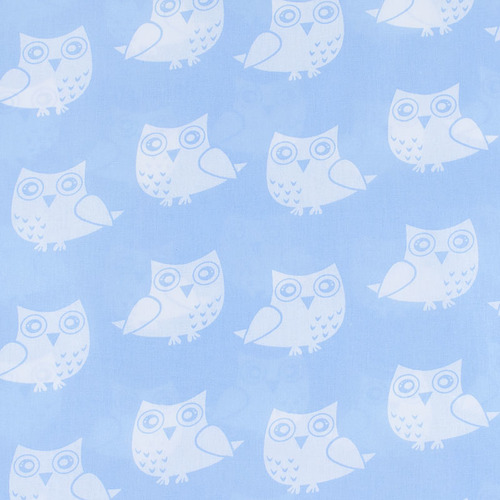 Ткань на отрез бязь плательная 150 см 1682/3 цвет голубой фото 1