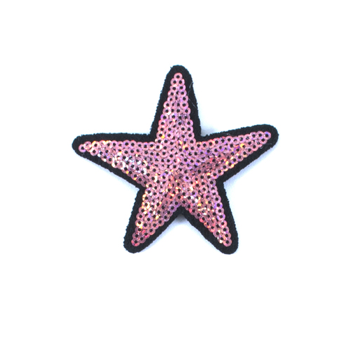 Термоаппликация ТАП 054 звезда нуд 7см фото 1