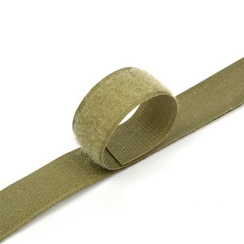 Лента-липучка 25 мм 25 м цвет F263 хаки фото 1