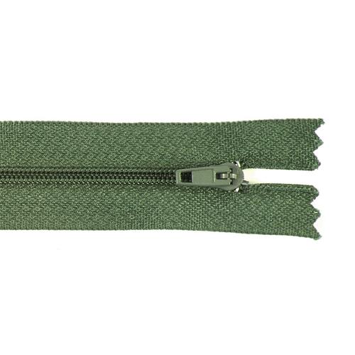 Молния пласт юбочная №3 20 см цвет зеленый фото 1