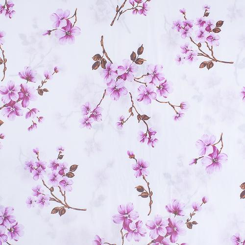 Ткань на отрез бязь о/м 120 гр/м2 150 см 157/2 цвет розовый фото 2