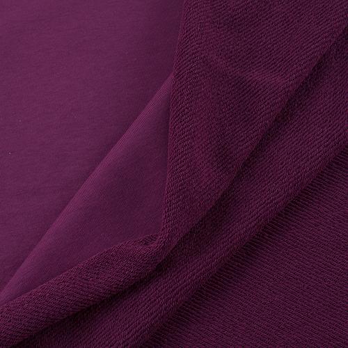 Маломеры футер 3-х нитка диагональный цвет сливовый 0,98 м фото 2