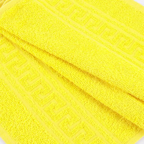 Полотенце махровое 30/50 см цвет 1075 лимон фото 1