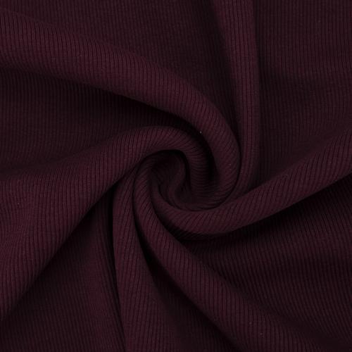 Ткань на отрез кашкорсе 3-х нитка с лайкрой цвет темно-бордовый фото 1
