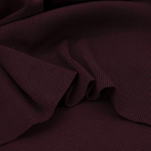 Ткань на отрез кашкорсе 3-х нитка с лайкрой цвет темно-бордовый фото 4