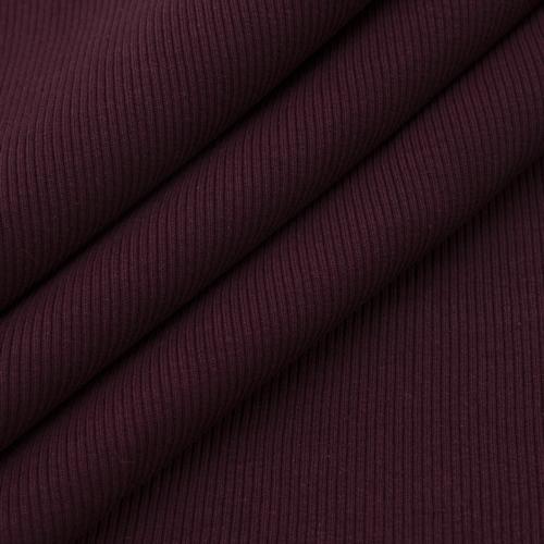 Ткань на отрез кашкорсе 3-х нитка с лайкрой цвет темно-бордовый фото 3