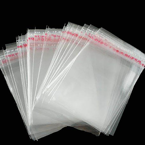 Полипропиленовый упаковочный пакет с клеевым клапаном 30 мкр 150х200+50 мм фото 2