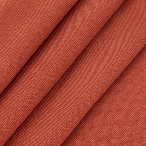 Ткань на отрез лакоста цвет морковный фото 2