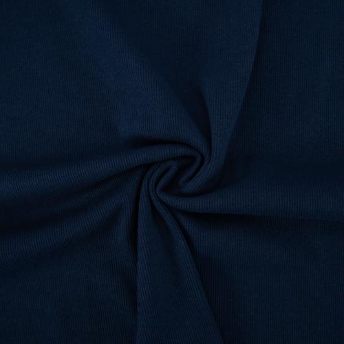Ткань на отрез кашкорсе с лайкрой 5502-1 цвет темный индиго фото 2
