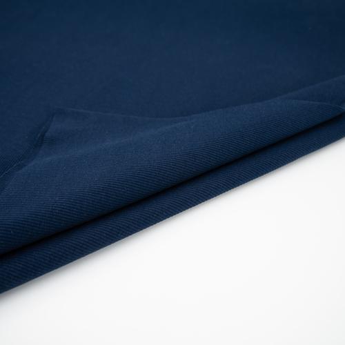 Ткань на отрез кашкорсе с лайкрой 5502-1 цвет темный индиго фото 5