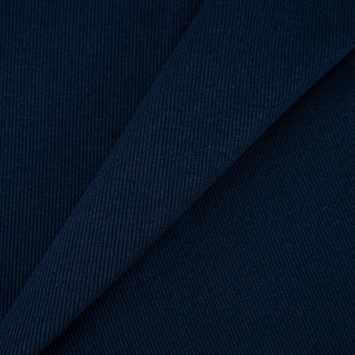 Ткань на отрез кашкорсе с лайкрой 5502-1 цвет темный индиго фото 1
