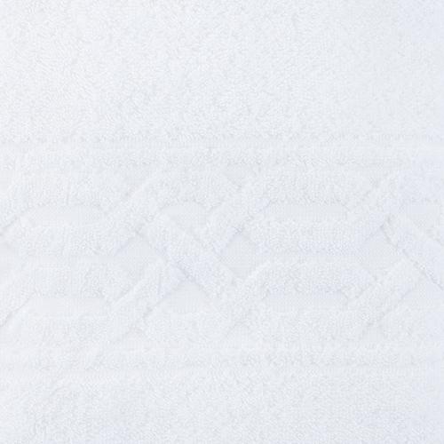 Полотеце махровое Восток ПТХ-6001-02644 40/70 см цвет 101белый фото 2