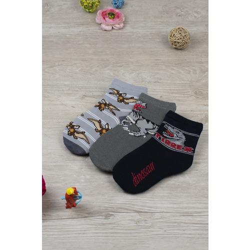 Носки Ящер детские (набор) 4039 р 16-18 фото 1