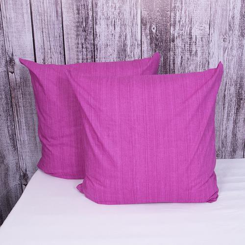 Наволочка перкаль 2049312 Эко 12 пурпурный упаковка 2 шт 70/70 фото 1