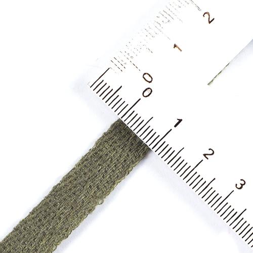 Лента киперная 10 мм цвет хаки фото 2
