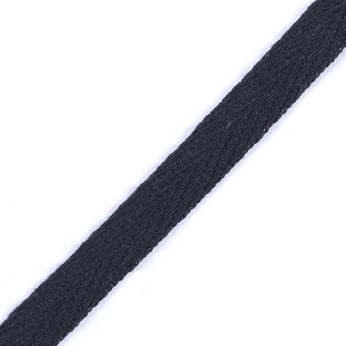 Лента киперная 10 мм цвет черный фото 1