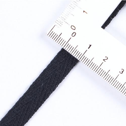 Лента киперная 10 мм цвет черный фото 2