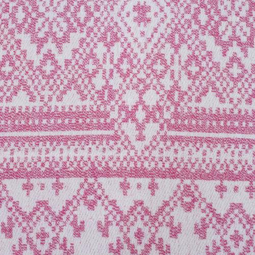Плед Байковый хб 400 гр цвет розовый 150/210 см фото 2