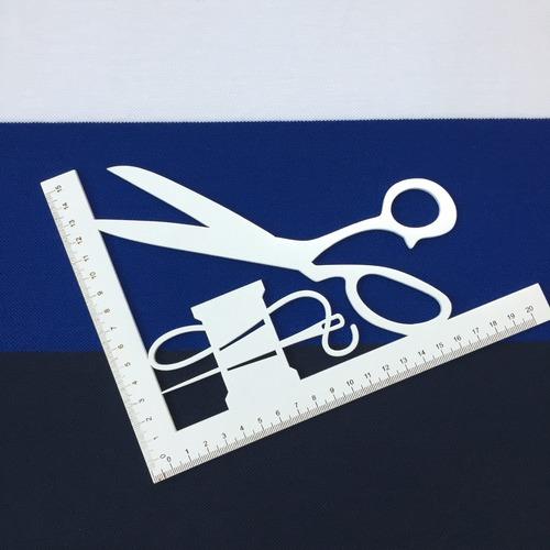 Ткань на отрез пике №3 Полоса синяя фото 3