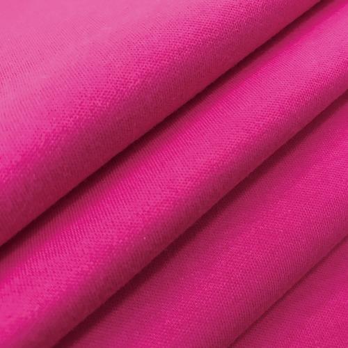 Ткань на отрез интерлок цвет розовый фото 4