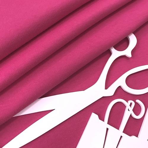Ткань на отрез интерлок цвет розовый фото 3
