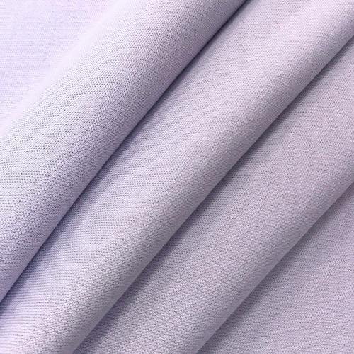 Ткань на отрез интерлок цвет светло-сиреневый фото 5
