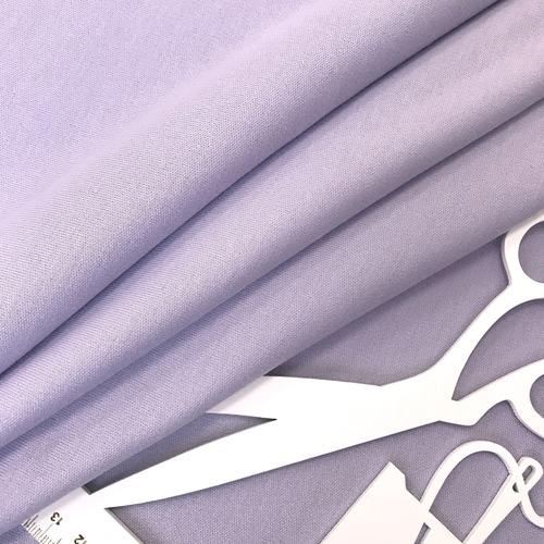 Ткань на отрез интерлок цвет светло-сиреневый фото 4