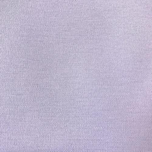 Ткань на отрез интерлок цвет светло-сиреневый фото 1